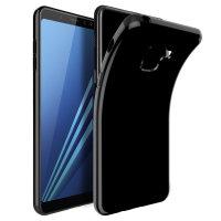 Coque Samsung Galaxy A8 2018 Olixar FlexiShield - Noire