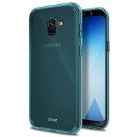 Olixar FlexiShield Samsung Galaxy A8 2018 Gel Case - Blue