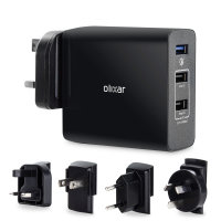 Olixar 3 Port Universal Super Fast Mains Charger with Quick Charge 3.0