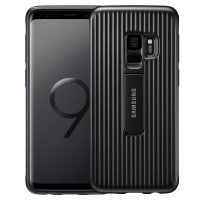 Official Samsung Galaxy S9 Protective Stand Cover Skal - Svart