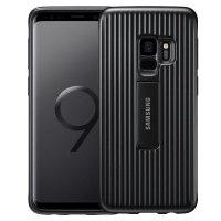 Funda oficial Samsung Galaxy S9 con soporte - Negra