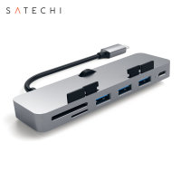 Satechi USB-C iMac 2017 Clamp Hub Pro Multi-Port Adapter - Grey