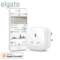Elgato Eve Energy Wireless Power Monitor and Switch - UK Mains Plug