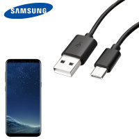Official Samsung USB-C Galaxy S8 Plus Charging Cable - Black