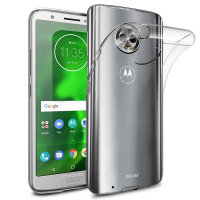 Olixar Ultra-Thin Motorola Moto G6 Case - 100% Clear