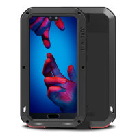 Love Mei Powerful Huawei P20 Protective Case - Black