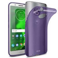 Olixar FlexiShield Motorola Moto G6 Gel Case - Purple