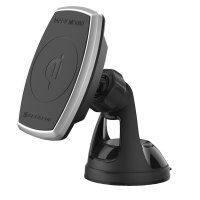 Scosche MagicMount Samsung S9 Magnetic Holder Wireless Car Charger