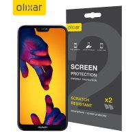 Olixar Huawei P20 Lite Screen Protector 2-in-1 Pack