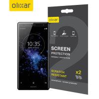 Protection d'écran Sony Xperia XZ2 Olixar – Pack de 2
