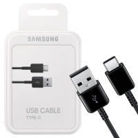 Official Samsung USB-C Charging Cable - Black - 1.5m - Retail Box