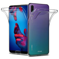 Olixar FlexiCover Complete Protection Huawei P20 Case - Clear