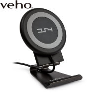 Veho DS-4 Qi 1.2 Universal Wireless Fast Charging Pad - Black