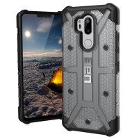 UAG Plasma LG G7 Protective Case - Ice / Zwart