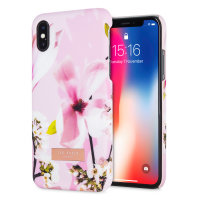 Ted Baker ZOENI iPhone X Soft Feel Shell Skal - Fairy Tale Pink