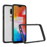 RhinoShield CrashGuard OnePlus 6 Bumper Case - Black