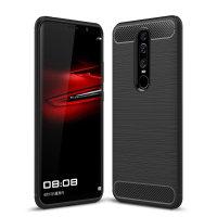 Encase Carbon Fibre Huawei Mate RS Case - Black