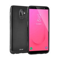 Olixar FlexiShield Samsung Galaxy J8 2018 Gel Case - Zwart