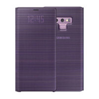 Officieel Samsung Galaxy Note 9 LED View Cover Case - Lavendel