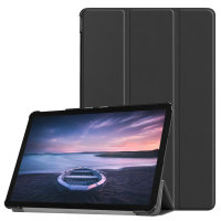 Olixar Leather-Style Samsung Galaxy Tab S4 Stand Case - Black