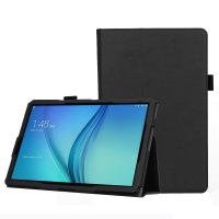 Olixar Leather-Style Samsung Galaxy Tab S4 Wallet Stand Case - Black