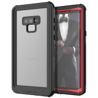 Ghostek Nautical 2 Samsung Galaxy Note 9 Waterproof Case - Black /Red