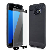 Olixar Sentinel Samsung Galaxy S7 Edge Case And Glass Screen Protector
