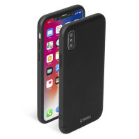 Krusell Arvika 3.0 iPhone XS Full Cover Case - Black