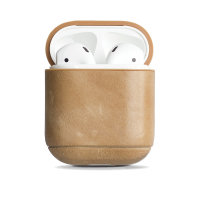 Krusell Sunne AirPod Genuine Leather Case - Nude