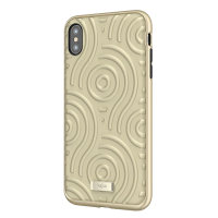 Kajsa Briquette Collection Sphere iPhone XS Max Case - Champagne Gold