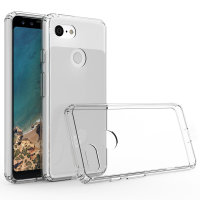 Olixar ExoShield Tough Snap-on Google Pixel 3 Case - Kristalhelder