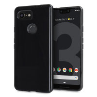 Olixar FlexiShield Google Pixel 3 XL Gel Case - Zwart