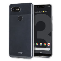 Olixar FlexiShield Google Pixel 3 XL Gel Case - 100% Clear