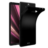 Olixar FlexiShield Sony Xperia 10 Gel Case - Black