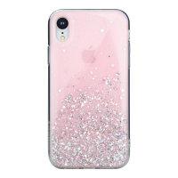 SwitchEasy Starfield iPhone XR Glitter Case - Pink