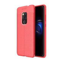 Olixar Attache Huawei Mate 20 Leather-Style Case - Red