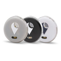 TrackR Pixel Bluetooth Tracker 3-pack - Grey/Black/White