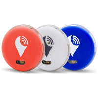 TrackR Pixel Bluetooth Tracker 3-Pack - Red/Blue/White