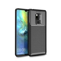 Olixar Huawei Mate 20 X Carbon Fibre Case - Black