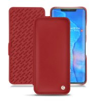 Noreve Tradition D Huawei Mate 20 Pro Leather Flip Case - Red