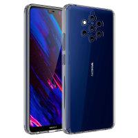 Olixar ExoShield Tough Snap-on Nokia 9 Pureview Case  - Crystal Clear