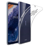 Custodia Olixar Ultra-Sottile Nokia 9 Pureview - 100% trasparente