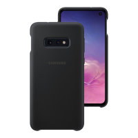 Official Samsung Galaxy S10e Silicone Cover Case - Black