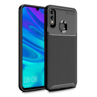 Olixar Carbon Fibre Huawei P Smart 2019 Case - Black