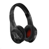Motorola Pulse Escape+ Over-Ear Wireless Headphones  Black Camo