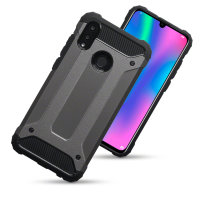 Olixar Delta Armour Protective Huawei P Smart 2019 Case - Gunmetal