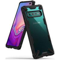 Ringke Fusion X Samsung Galaxy S10 Plus Case - Black
