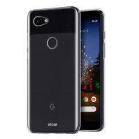 Olixar FlexiShield Google Pixel 3a Gel Case - Clear