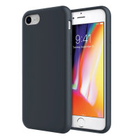 Olixar iPhone 8 / 7 Soft Silicone Case - Midnight Blue