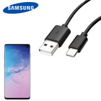 Official Samsung USB-C Galaxy S10 Charging Cable - 1m Black